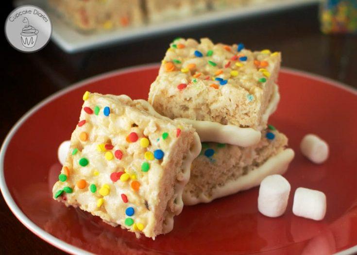 Funfetti Krispy Treats