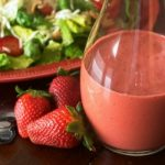Easy Strawberry Balsamic Vinaigrette Dressing