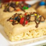 Ultimate M&M's Peanut Butter Krispies Treats