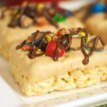 Ultimate M&M's Peanut Butter Krispies Treats