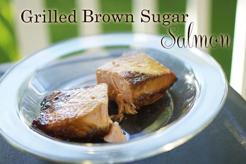 Grilled Brown Sugar Salmon