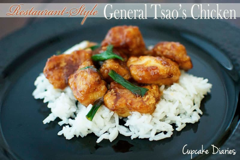 Restaurant-Style General Tsao's Chicken