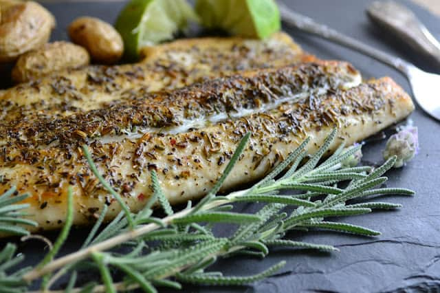 Pan Fried Trout with Herbs de Provence