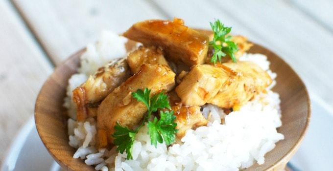 Grilled Orange Teriyaki Chicken and Rice - Cupcake Diaries