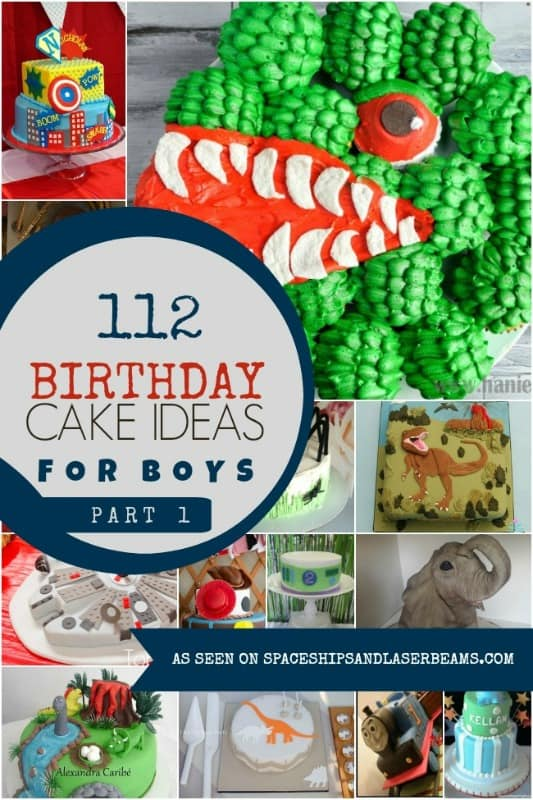 112 Birthday Cake Ideas for Boys