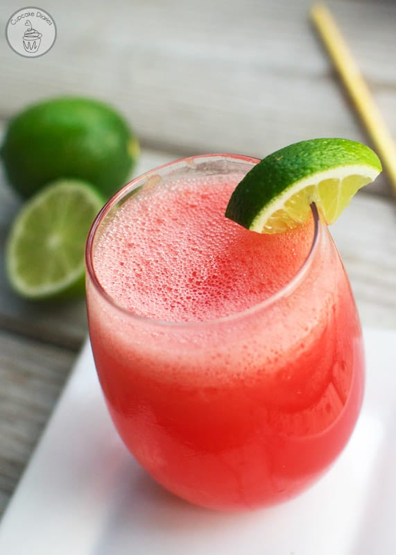 Cherry Limeade Cooler - A refreshing summer beverage with the perfect combination of sweet and tangy. Perfect for a hot day! #PourMoreFun #ad