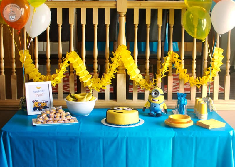 Minion Birthday Party - Games, food, and activities for a minion birthday  party.