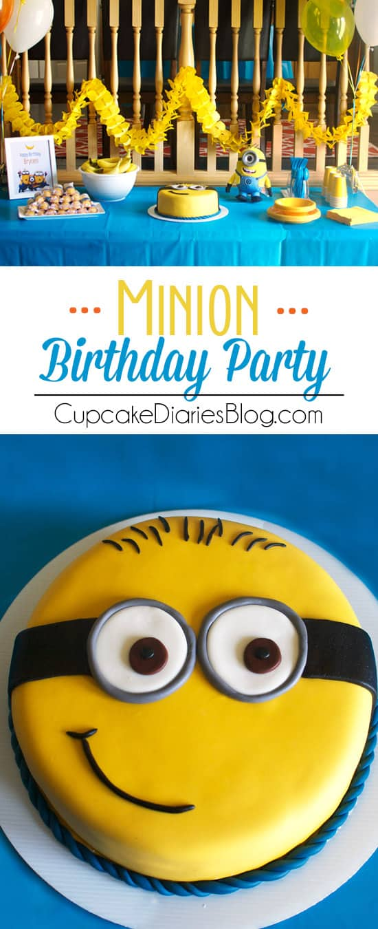 image relating to Free Printable Minions Birthday Card called Minion Birthday Celebration with Totally free Printables