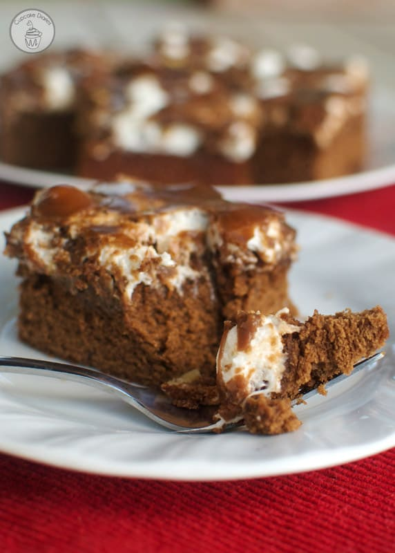 Rocky Road Brownies - Perfectly chewy, chocolatey brownies topped with gooey rocky road goodness.