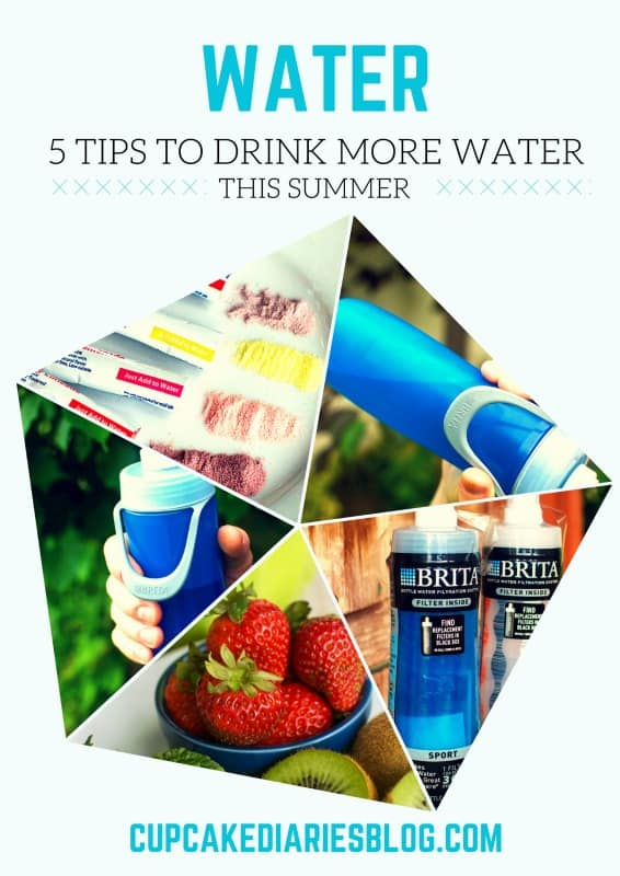 5 Tips to Drink More Water #BritaontheGo #Pmedia #ad @BritaUSA @Walmart