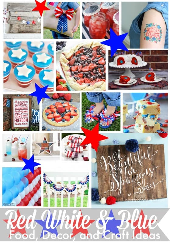 95 Red, White, and Blue Food, Decor, and Craft Ideas