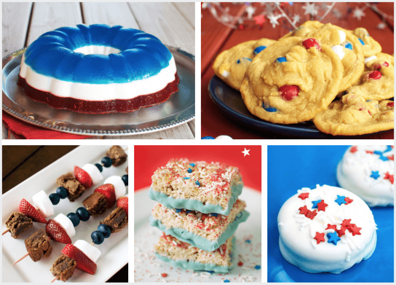 Patriotic desserts are so fun to serve for the Fourth of July and other patriotic holidays!