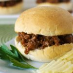 Sloppy Joe Sliders – A Rhodes Bake 'n Serv Kids Recipe