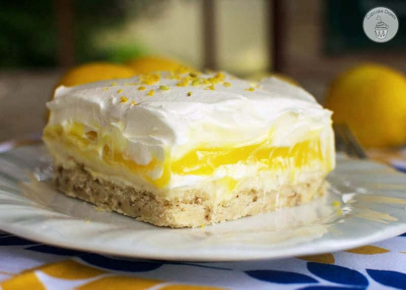A lemon dessert that will leave everyone asking for the recipe! It's wonderfully easy to make and so yummy.