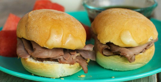 Mini French Dip Sandwiches – A Rhodes Kids Blog Recipe