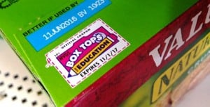 Easily earn money for your child's school with Box Tops for Education™!