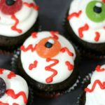 Evil Eye Cupcakes: 30 Days of Halloween – Day 20