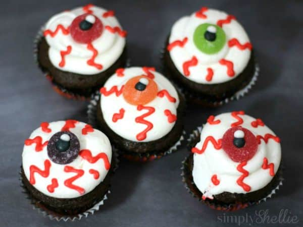Evil Eye Cupcakes: 30 Days of Halloween - Day 20 - Cupcake ...