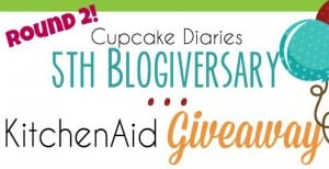 Cupcake Diaries 5th Blogiversary Giveaway - Round 2!