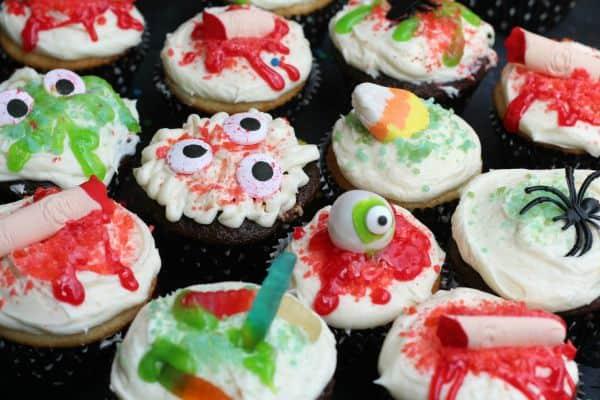 Halloween Pop Rock Cupcakes