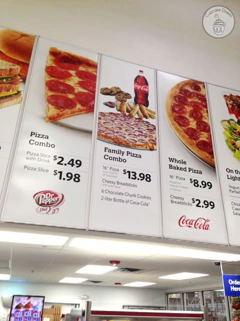 Relieve some of the busy weeknight stress of a new school year with the Family Pizza Combo at Sam's Club!