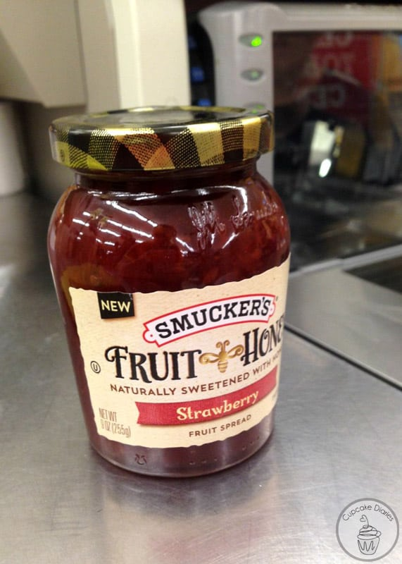 Smucker's Fruit and Honey Strawberry Fruit Spread