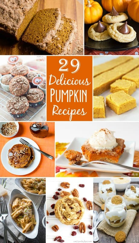 29 Delicious Pumpkin Recipes