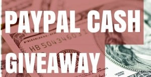$500 PayPal Cash Giveaway!
