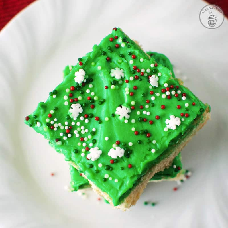 christmas sugar cookie bars - Christmas Bar Cookies