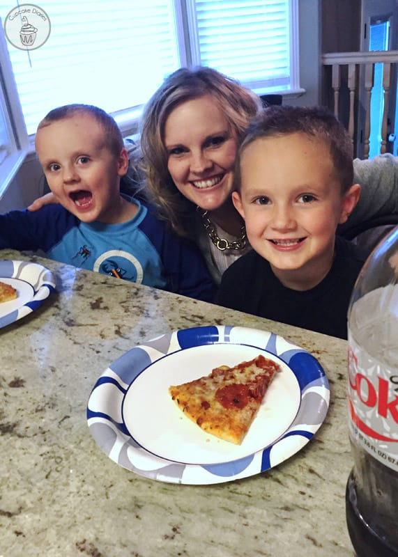 Enjoy a Walmart Deli meal with with Coca-Cola as a family!