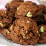 Chocolate Mint Chip Cookies