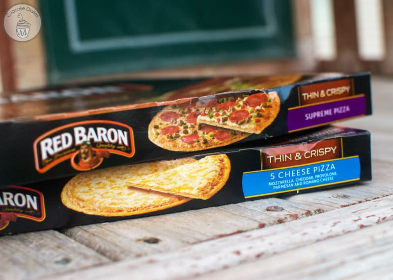 Red Baron® Thin & Crispy Supreme Pizza and Cheese Pizza