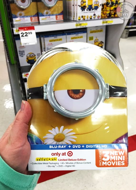 Minions Movie on Blu-Ray and DVD at Target