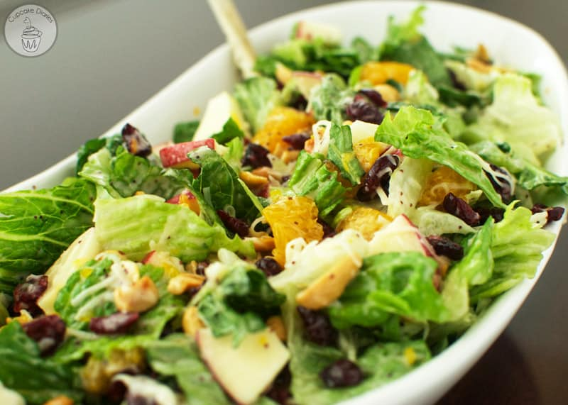 Green Salad with Craisins® and Poppyseed Dressing