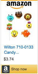 Large Candy Eyeballs on Amazon