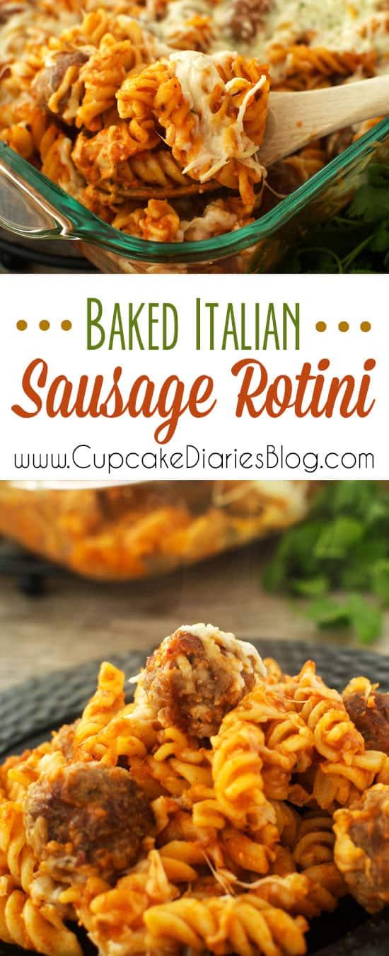 Baked Italian Sausage Rotini