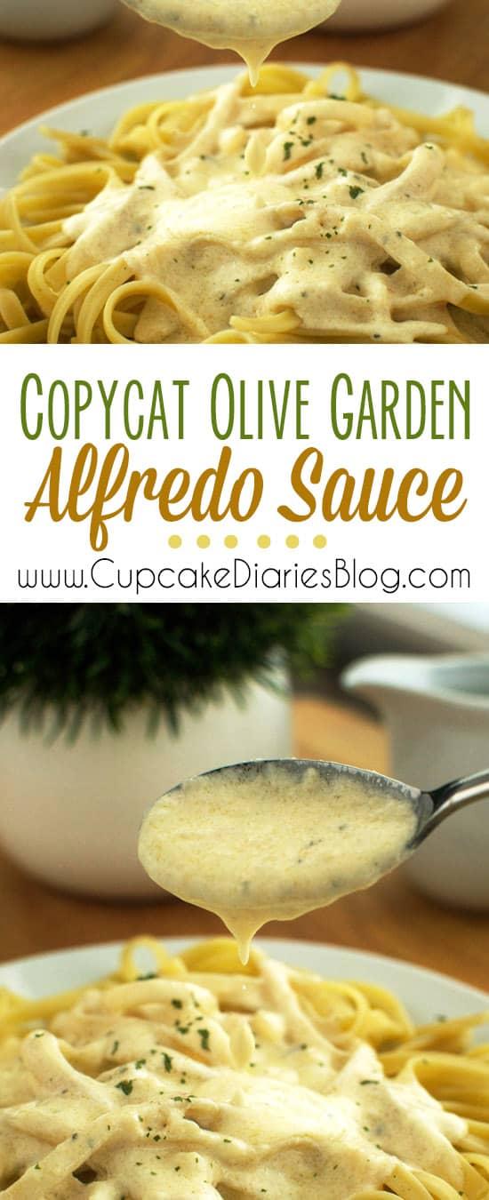 Copycat olive garden alfredo sauce - Olive garden alfredo sauce recipe copycat ...
