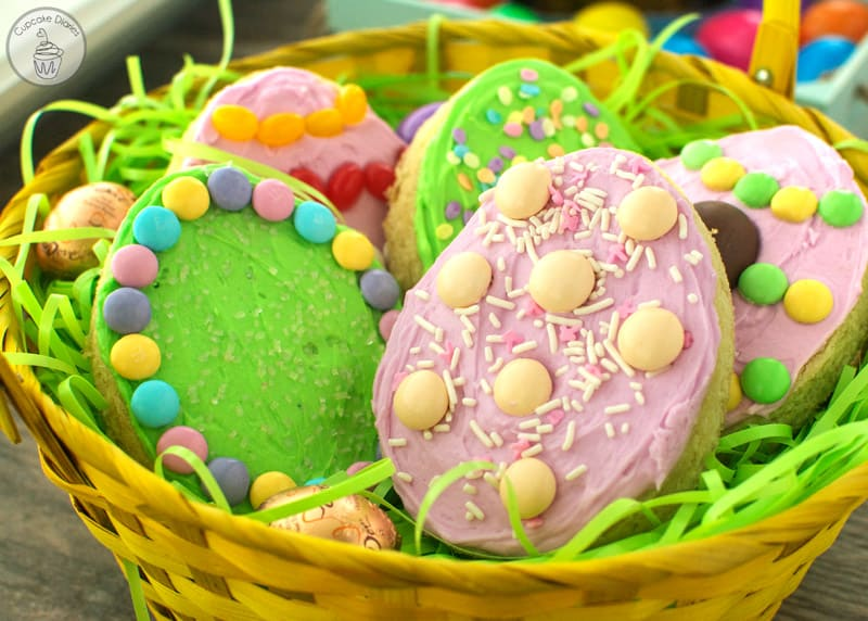 Easter Egg Sugar Cookie Bars