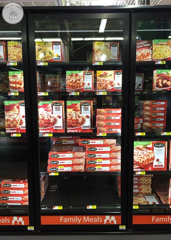 Stouffer's Lasagna at Walmart