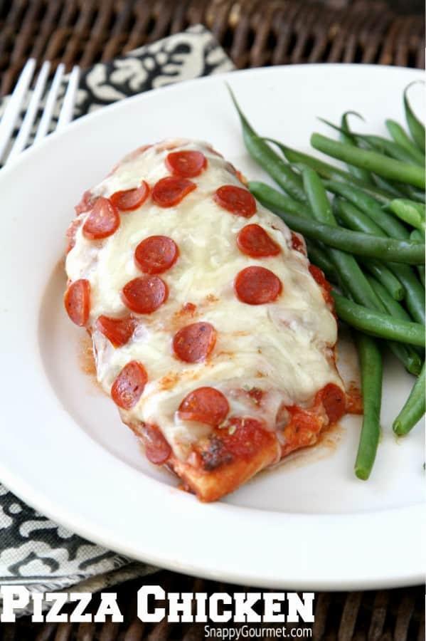 Easy Pizza Chicken