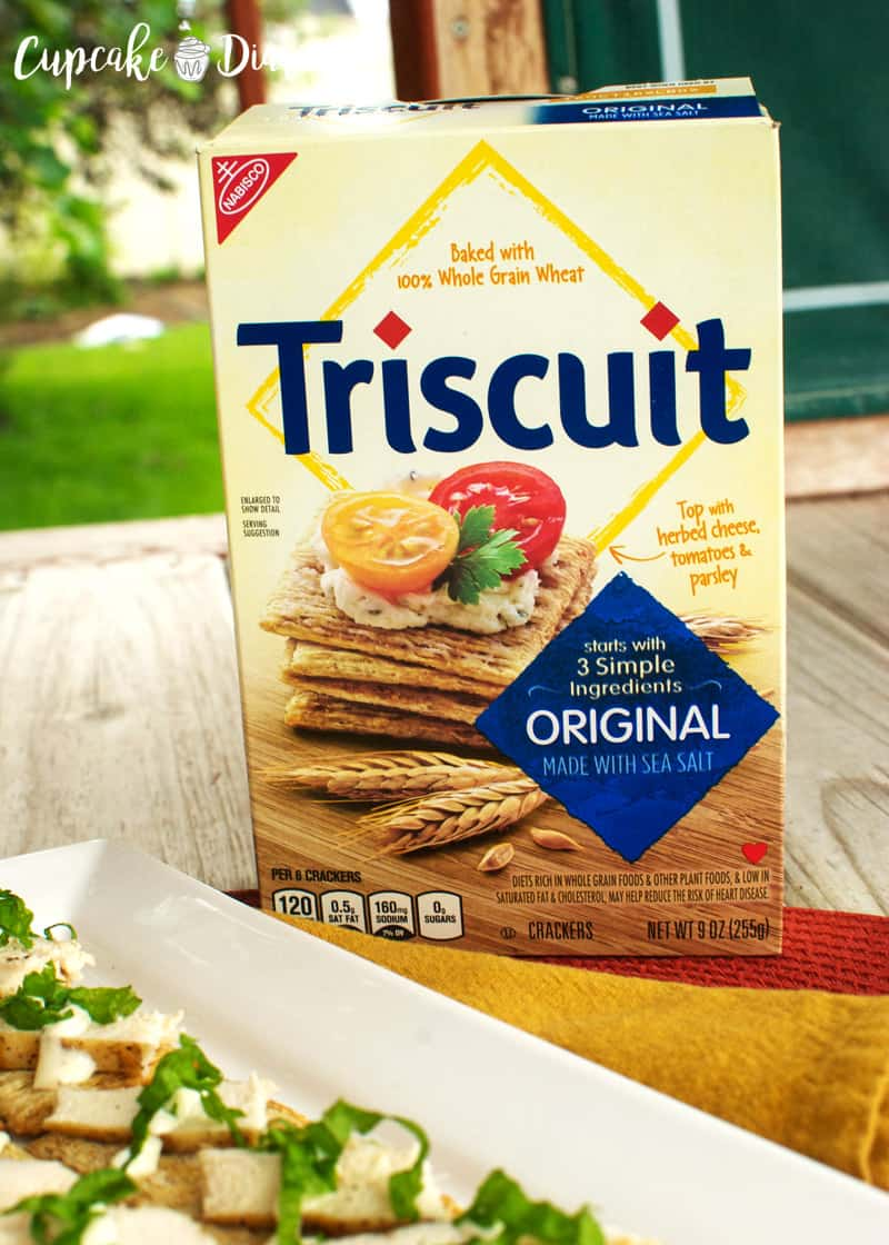 Chicken Caesar and Kale TRISCUITS