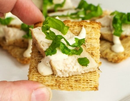 Chicken Caesar and Kale TRISCUIT Crackers