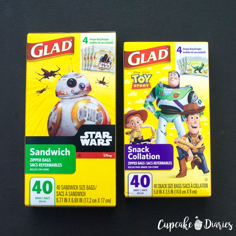 Glad Disney Snack and Sandwich Bags