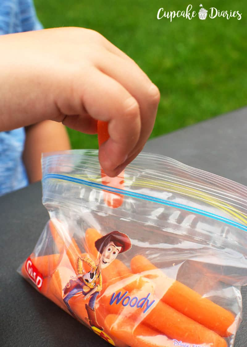 Glad Disney Snack Bags