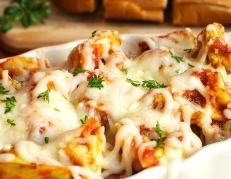 Baked Cheesy Tortellini