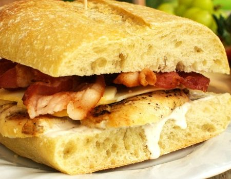 Chicken Bacon Ranch Sandwich