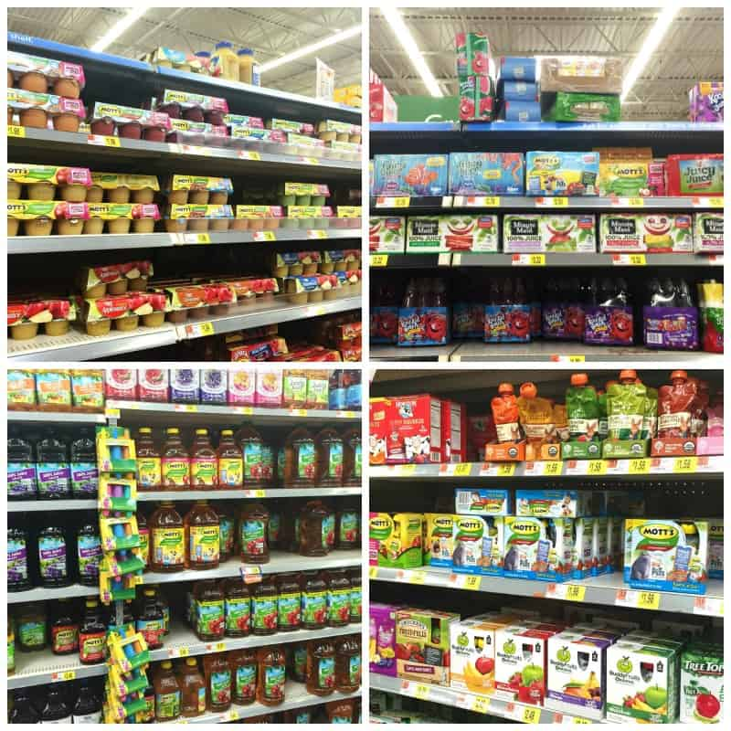 Mott's Products at Walmart