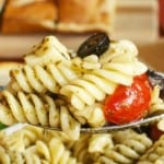 The Best Pizza Pasta Salad