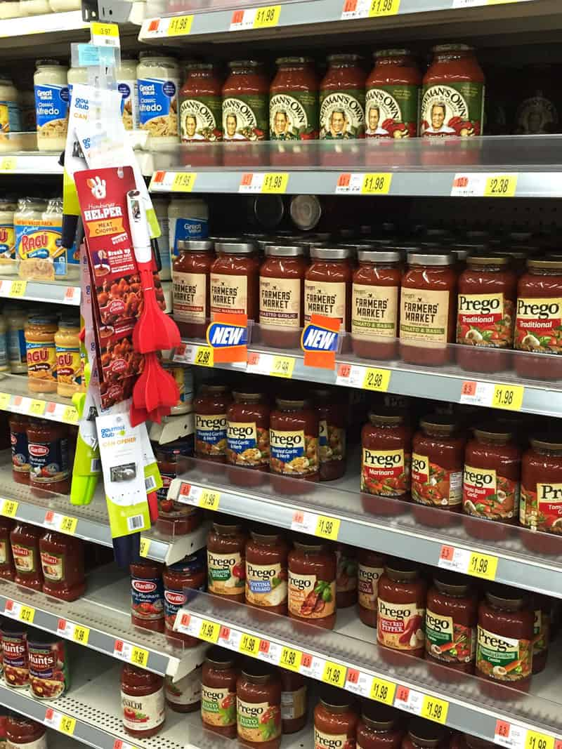 Prego Farmers' Market Sauce at Walmart