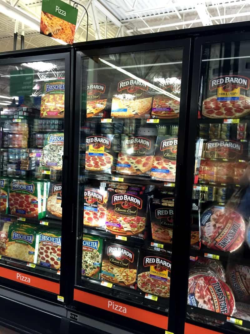Red Baron Pizza at Walmart
